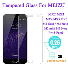 zero.26mm 9H Arduous 2.5D Anti Shatter Tempered Glass For Meizu MX4 MX5 Pro5 M2 M3 Mini M1 Notice M2 Notice M3 Notice Display screen Protector Movie