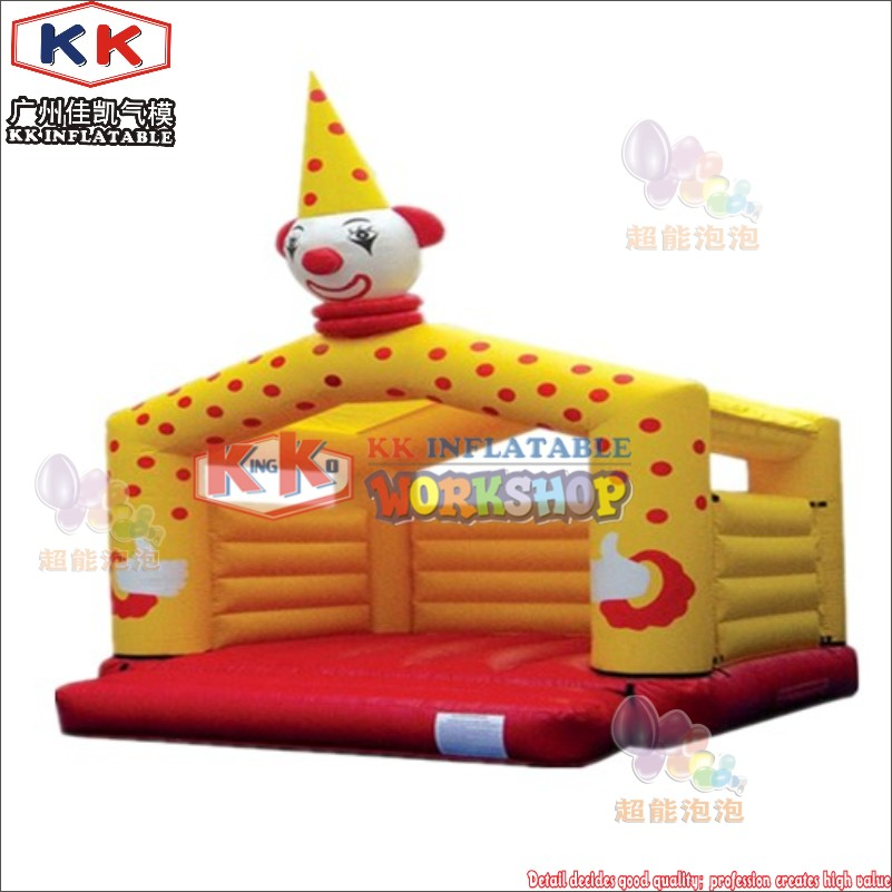 KK Factory Inflatable clown jumper, clown giant inflatable bouncer, bouncy castle for saleKK Factory Inflatable clown jumper, clown giant inflatable bouncer, bouncy castle for sale