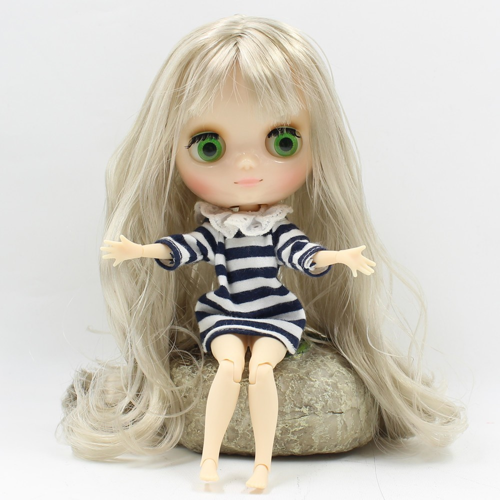 Middie Blythe Doll Blonde Hair Jointed Body 20cm 2