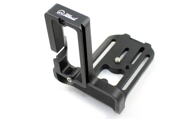 L-shaped Vertical Quick Release Plate Hand Grip Holder L Bracket for Canon 1DX Arca-Swiss RRS SUNWAYFOTO Compatible