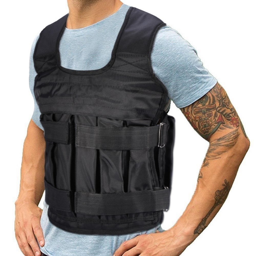 Weight Adjustable Weighted Vest,Boxing Training Invisible Weight loading for Running Exercise Weighted Vest Weight Training Vest