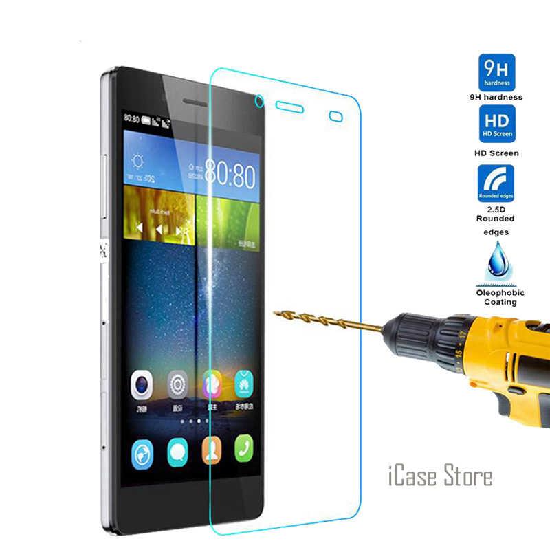 Fundas 9 H Vidro Temperado Protetor de Tela Para Huawei P8 Lite 2017/P8/P8Lite LTE Duos Protetora HD filmes de cinema de Alta Qualidade
