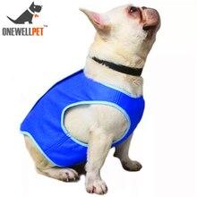 Pet охлаждающая летняя куртка для собаки охлаждающая продукция PVA собачья упряжь, для домашних животных Ошейники большая собачка безопасная для здоровья лед водит шею XS до L Размер