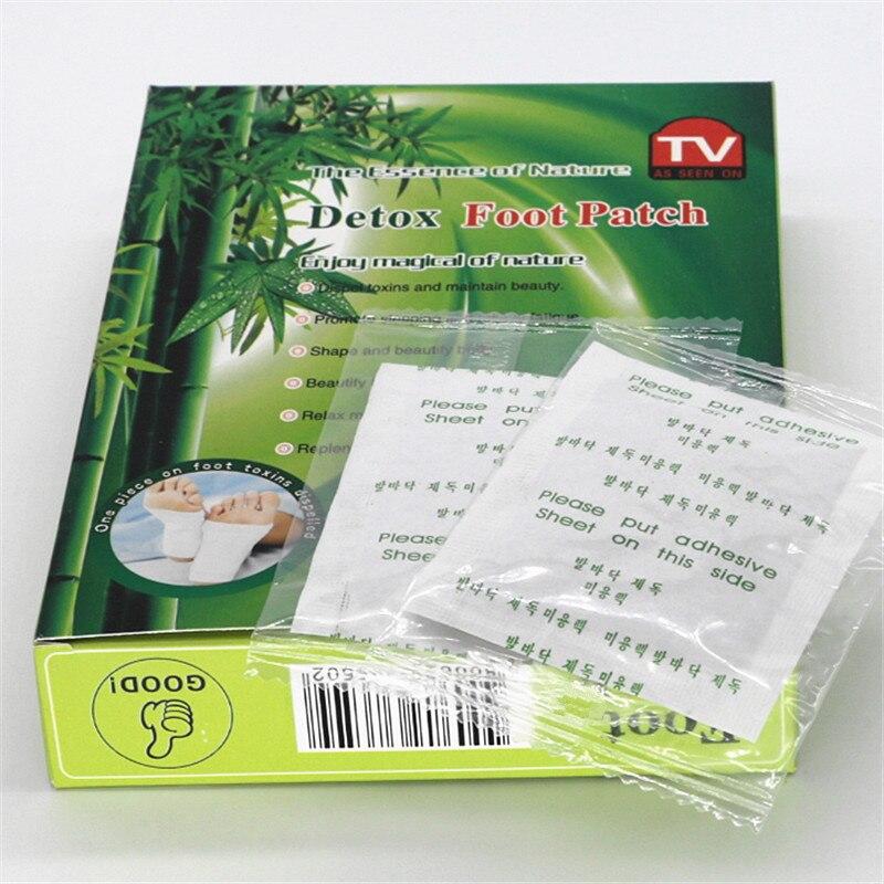 10 коробок = 100 шт Китайский травяной бамбуковый Детокс ножной пластырь колодки с клеем улучшает сон похудения маски для ног уход за здоровьем ног