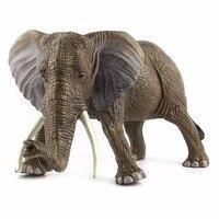 Grande Formato Elefante 31*16 cm Selvaggio Modello Animale Giocattolo Simulato Action Figures Toys Collection Regalo Giocattoli Per I Bambini