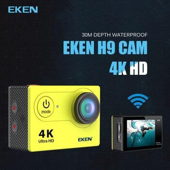 Nuovo Arrivo! originale Eken H9R/H9 Ultra HD 4K di Azione Della Macchina Fotografica 30m impermeabile 2.0