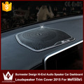 Burmester Design Hi-End Audio Speaker Car Dashboard Loudspeaker Trim Cover 2015 For Mercedes W205 GLC 2015 2016