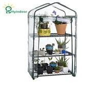 Hyindoor Garden Supplies Agriculture Greenhouse Sunroom Garden PVC Mini Greenhouses
