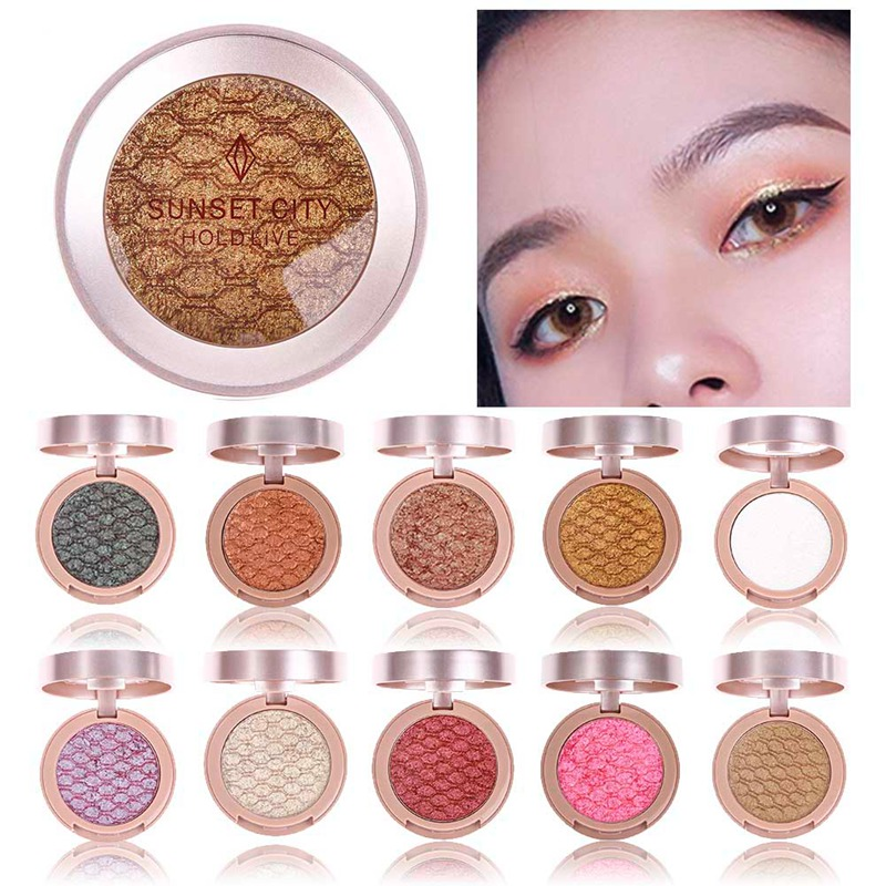 Eye Shadow Clever Ka Cayla Diamond Glitter Eyeshadow Powder 6 Colors Gold Silver Blue Green Pigment Waterproof Long Lasting Flash Yeshadow Hf062 Choice Materials