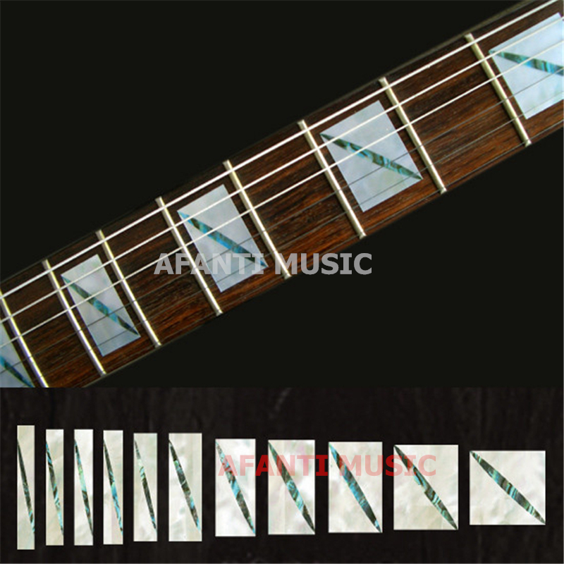 Afanti music Guitar Finger Board sticker / Shell sticker / personality guitar Inlay (FPD-114) yibuy 2pcs inlay colorful guitar head veneer shell sheet new