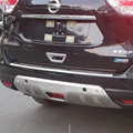 Car Accessories aluminium alloy Front and Rear Bumper Protector Guard Skid Plate Sill For Nissan X-TRAIL 2014 2015