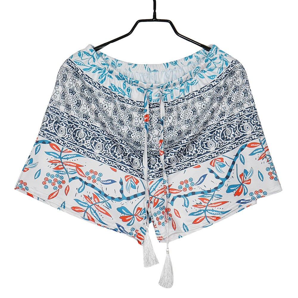 Jocoo Jolee 2019 New Fashion Shorts Women Sexy Hot Summer Printed High Waist Shorts Loose Casual Short Feminino Plus Size 2XL
