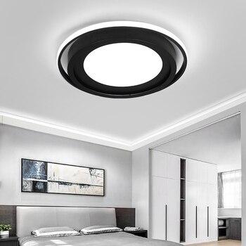 Luces De Techo Lowes | Candelabros De Techo Led Moderno Para Sala De Estar Dormitorio AC85 ~ 265 V Accesorios De Iluminación Para El Hogar Lámpara De Techo En Bajo Los Techos
