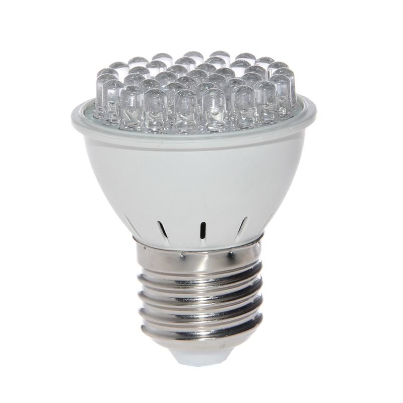 Новый AC 220 В E27 3528 38 светодиодный светать полный спектр цветочных растений лампа Новый H15