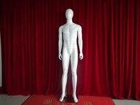 Guangdong производитель непосредственно продажа FRP материалов, Глянцевая белый мужской овальная голова манекены для витрины