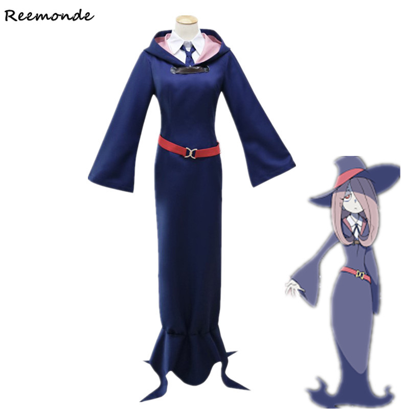 Anime Little Witch Academy Diana Cavendish Cosplay Costumes Akko Kagari Sucy Manbavaran Dresses -2872