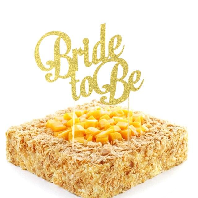 Glitter Paper Bachelorette Hawaiian wedding party decor Bride to be ...
