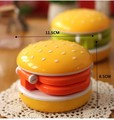LED folding table lamp Mini hamburgers rechargeable table lamp eye protection fashion creative reading and writing desk lamp
