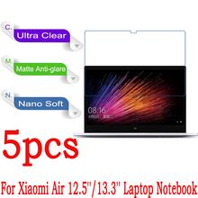 Clear Glossy/Matte/Nano Anti-Explosion Screen Protector Cover For Xiaomi Air 12.5''/13.3'' Laptop Notebook Style Protective Film(China (Mainland))