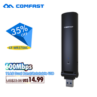 600Mbps Usb Ac Wifi Repeater COMFAST 2 4G 5 8G Dual Band Wireless Extender 802 11AC