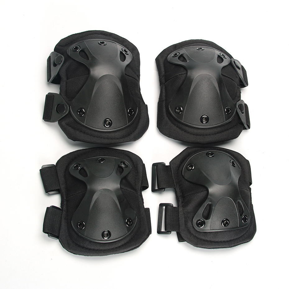 Kaiqizhe 2019 New Army Tactical Paintball Airsoft Hunting Sports Military Protection Knee Pads & Elbow Pads Set