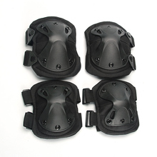 Kaiqizhe 2019 New Army Tactical Paintball Airsoft Hunting Sports Military Protection knee pads & elbow set