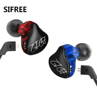 High Quality SIFREE KZ ED12 In Ear Monitor Earphone Bass Stereo Running Sports Ear Buds Noise Cancelling fone de ouvido