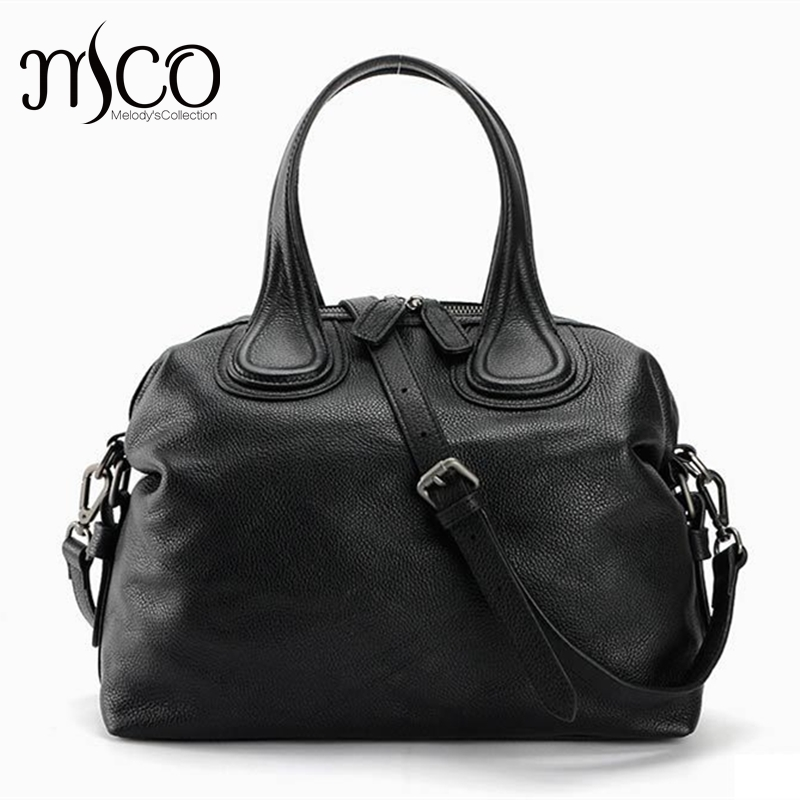 Luxury Women Leather Handbag Purses Casual Tote Genuine Leather Ladies Shoulder Bags Bolsa High Quality Fashion Top-Handle Bag zency fashion women real genuine leather casual women handbag large shoulder bags elegant ladies tote satchel purse bolsa 2017