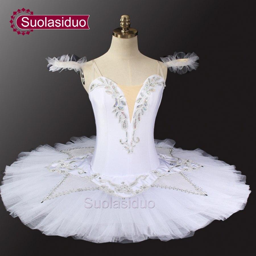 c084d5cf4 White Swan Lake Professional Tutu Girls Ballerina