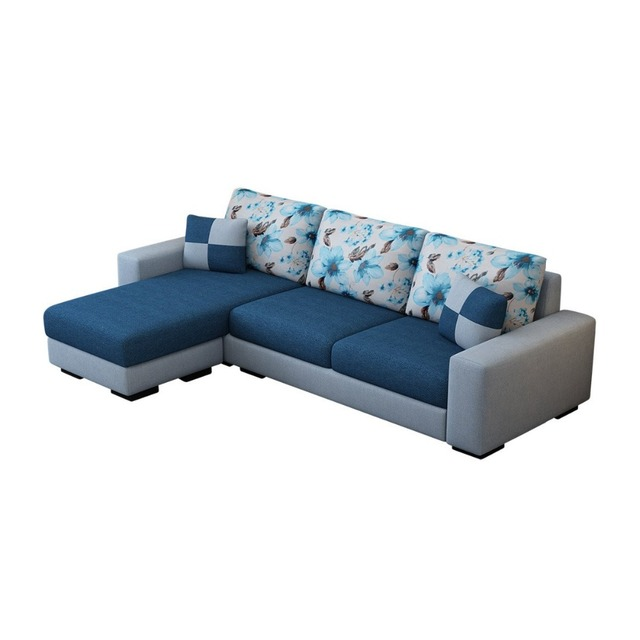 Modern fabric sofa/relax fashion sofa bed for living room with high ...