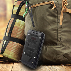 Image 3 - 3 strati Hybrid Impermeabile Antiurto Casse Del Telefono per il iPhone X 8 7 6 6S Plus 5 5S SE PC + TPU con la Cassa di Coperture Del Telefono di Vetro
