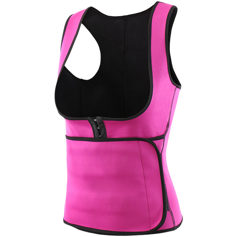 Neoprene Fitness Slimming Vest Women Breast Relieve Fatigue Slimming Corset Belt Fat Burning Lose Weight Fast Beauty Products