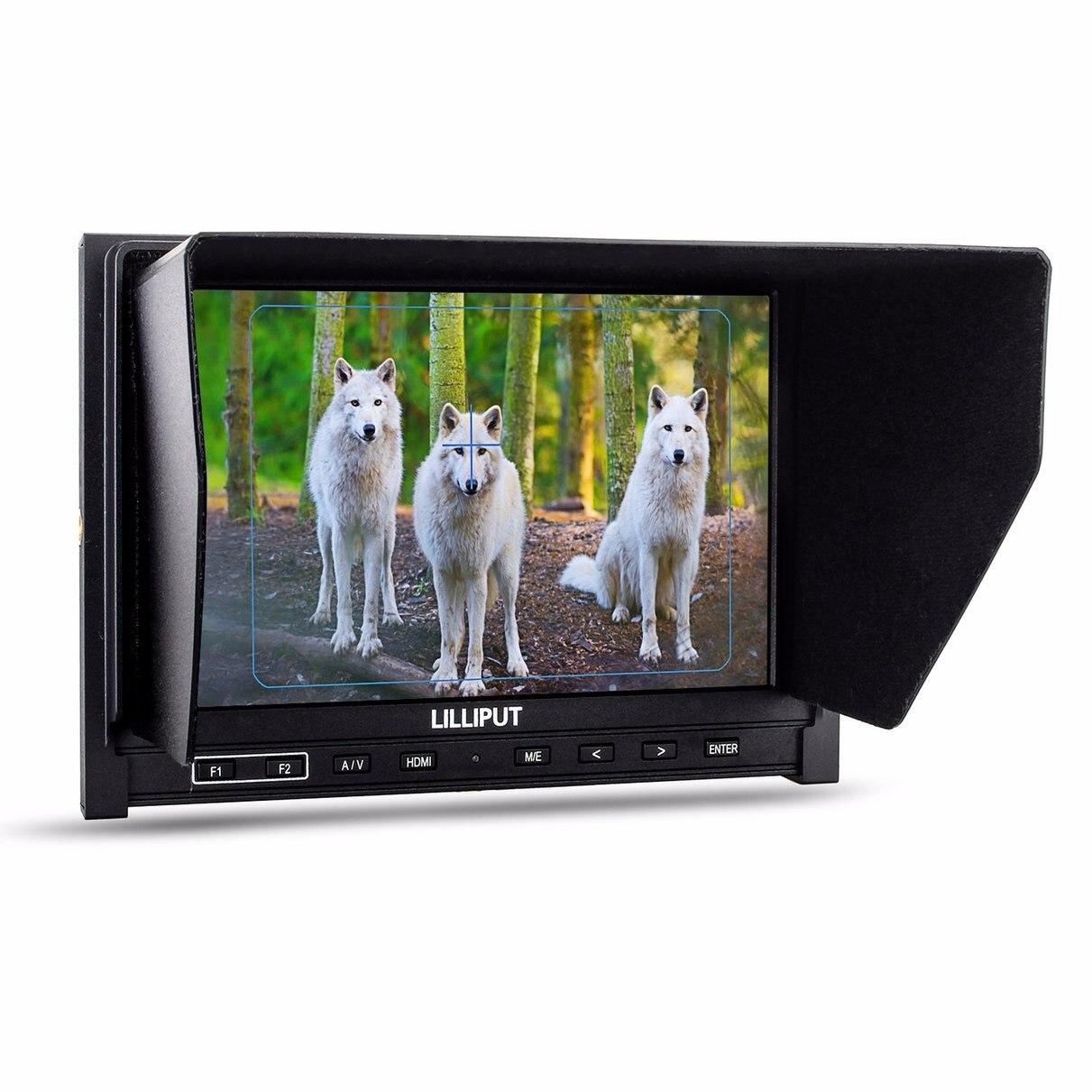"""bilder für Lilliput 7 """"339 IPS 1280x800 Dünne Hdmi-eingang AV In & out Kommt Mit 2600 mah Batterie"""
