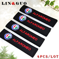4PCS Free shipping Car all cotton case for alfa romeo 159 147 156 giulietta 147 159 mito car styling