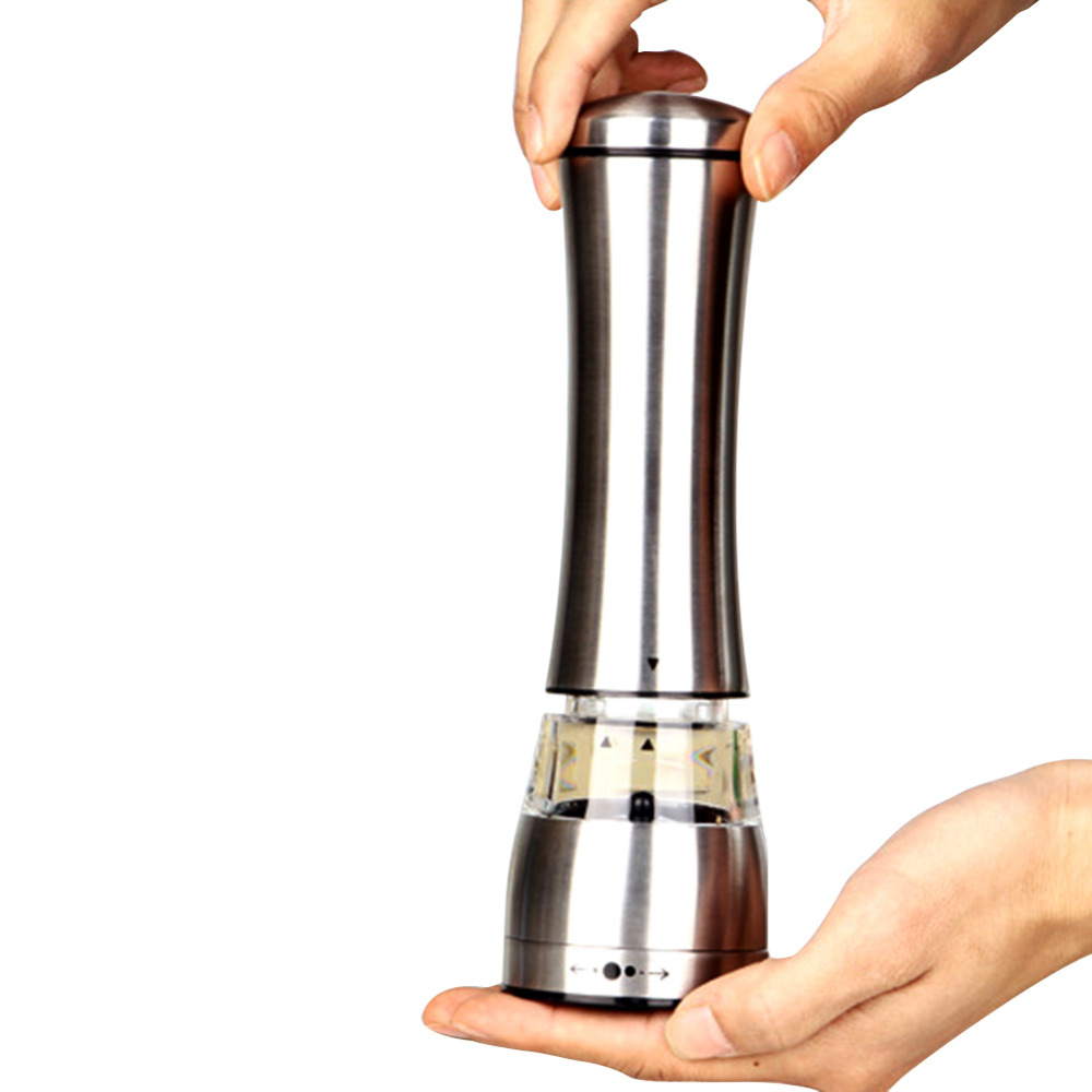 Stainless Steel Pepper Grinder Manual Salt Pepper Mill Grinder Portable Kitchen Mill Muller Tool DROP SHIPPING