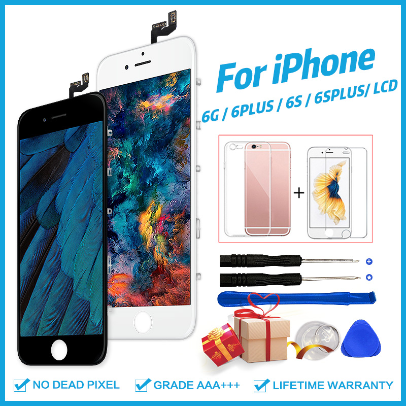 Grade AAA+++ For IPhone 6 6S Plus LCD With 3D Touch Screen