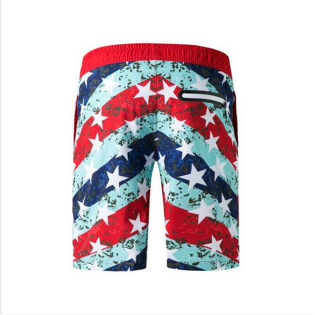 2019 été nouveau hommes hawaïen imprimer Shorts de plage Surf Board Shorts de bain m-xxxl