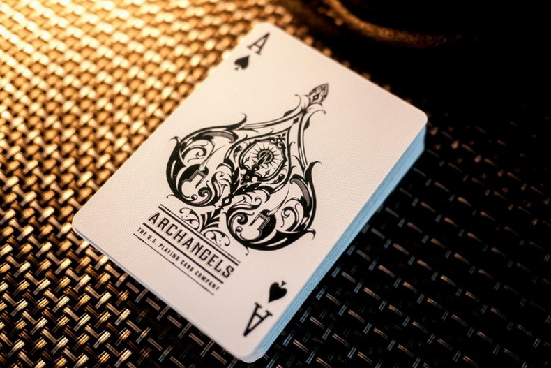 1pcs Bicycle Archangels Deck Magic Cards Playing Card Poker Close Up Stage Magic Tricks For Professional Magician Free Shipping
