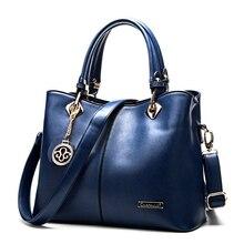 Frauen Handtaschen 2017 Luxus Designer Damen Top-Griff Corssbody Handtasche Kuh Leder Marke Taschen Messenger-leger Tote Tasche Büro