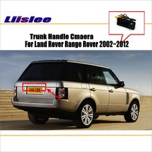 Liislee Автомобильная камера для Land Rover Range Rover 2002~ 2012/камера заднего вида/HD CCD RCA NTST PAL/ручка багажника OEM