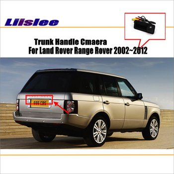 liislee car rear view camera for bmw 3 series f30 2018 trunk handle reverse parking back camera guide line night vision Liislee Car Reverse Parking Camera For Land Rover Range Rover 2002~2012 Rear View Camera  HD CCD RCA NTST PAL / Trunk Handle CAM