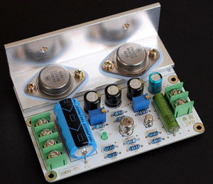 Image 1 - لوحة JLH 1969 من الفئة أ لمضخم صوت عالي الجودة PCB MOT/2N3055