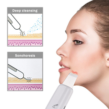 Ultrasonic Facial Skin Scrubber Massager Machine Facial Skin
