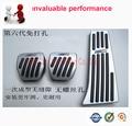No-slips!Car Fuel Coche Brake Pedal Plate MT Pedal Brake Gas Clutch FOR F20 F21 F22 F30 F34 F32 F33 F36 Interior Accessories