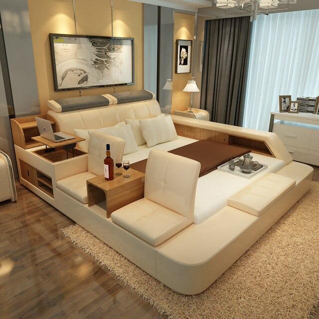 Tienda Online Muebles juegos de dormitorio queen size marco de la ...