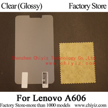 Clear Glossy Screen Protector Guard Cover protective Film For Lenovo A606 TD LTE