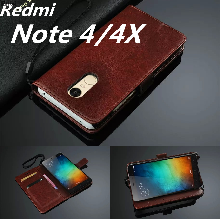 Redmi Note 4 4X 5.5 인치 Card Holder Cover Case