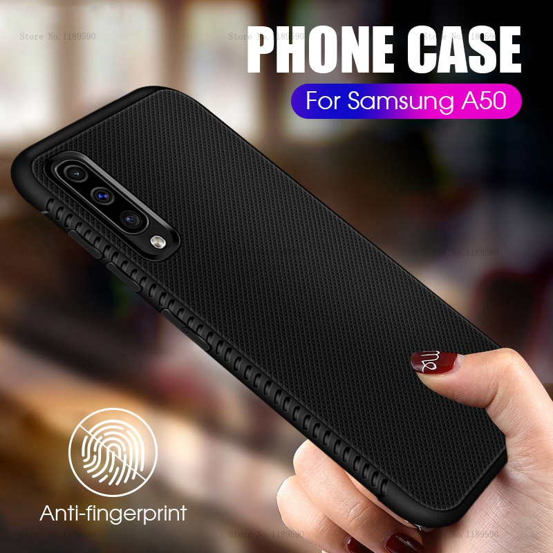 Ultra Thin Black Case For Samsung Galaxy A50 A30 A10 A20 A 50 30 M 10 20 Silicone Matte Cover For Samsung M10 M20 M30 Phone Case
