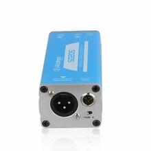 Alctron SD205 Passive Direct Box ,Stereo DI box Convert Unbalanced to Balance Audio Signal Processor