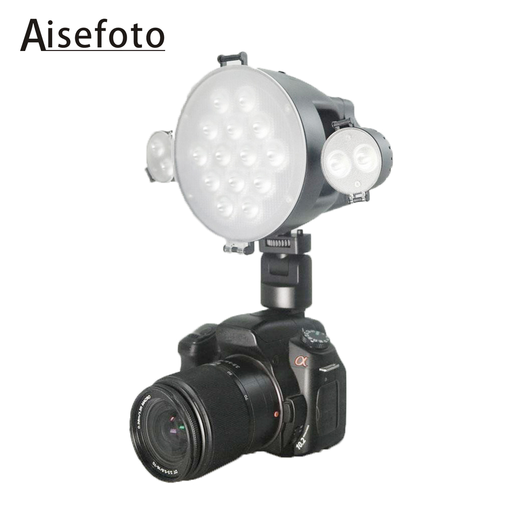 XT 1 SHOOT Brand LED Video Light For DSLR Camera DV Camcorder D3100 D3200 5D